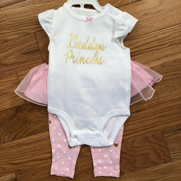 6a84b3602 Carter's Matching Sets | Never Worn Carters 3 Mth Daddys Princess ...